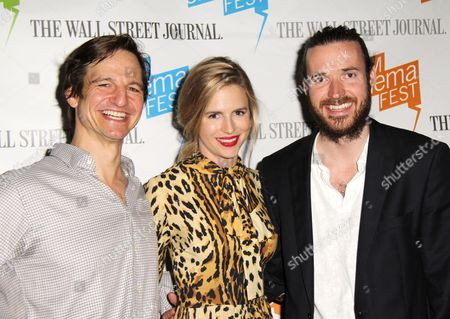 William Mapother, Brit Marling and Mike Cahill