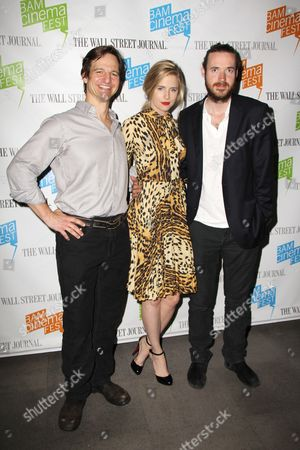 Stock Photo of William Mapother, Brit Marling and Mike Cahill