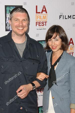 Stock Photo of Kent Osborne and Amanda Street