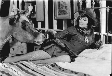 Actress Fenella Fielding As Mrs Garfield In The Sunday Playhouse Suspense Production 'mrs Quilley's Murder Shoes'.