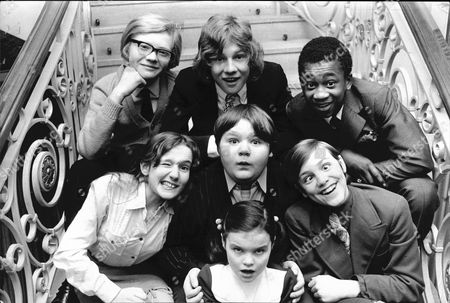 Michael Auderson, Peter Firth and Brinsley Forde (centre Row) Gillian Bailey, Douglas Simmonds and Bruce Clark. (front) Debbie Buss.