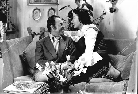 Actor Terence Alexander With His Wife.