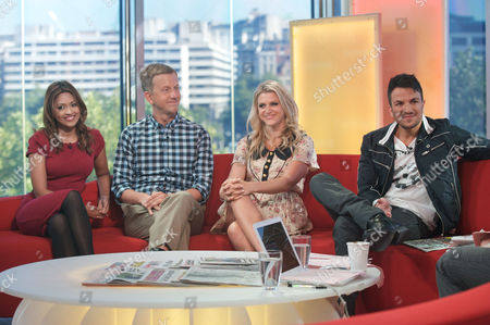 Tasmin Lucia Khan, Phil Reay-Smith, Anna Williamson and Peter Andre