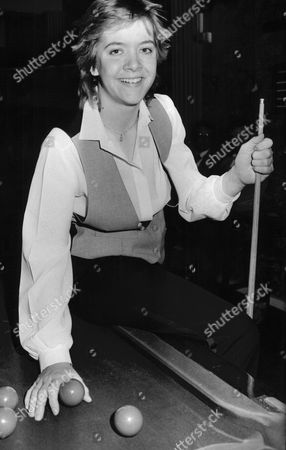 Woman Snooker Player Allison Fisher