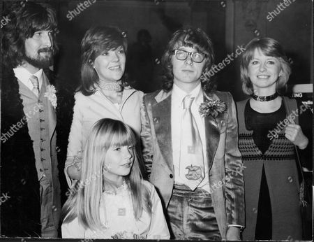 L-r: Singer Gordon Waller Betsy Doster Peter Asher And Actress Jane Asher.