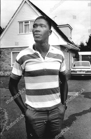 Cricketer Joel Garner At His Taunton Home