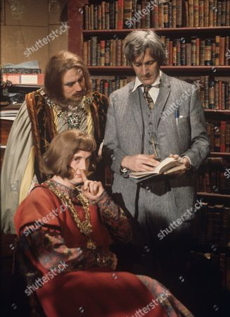 Terry Jones, Michael Palin and Roddy Maude-Roxby