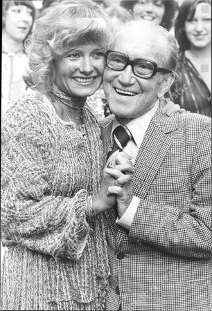 Actress Jenny Lee-wright And Comedian Arthur Askey.