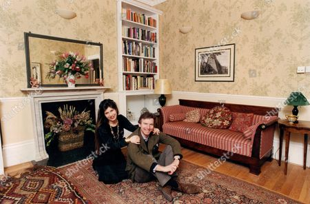 Editor Of Country Life Magazine Clive Aslet And Mrs