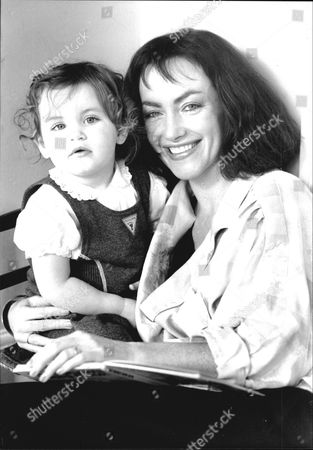 Actress Susan Gilmore With Her Daughter Emma In 1988.