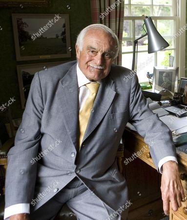 Editorial photo of Robert Washington Shirley, 13th Earl Ferrers, who is one of the longest serving members in the House of Lords, Norfolk, Britain - 21 Jun 2011