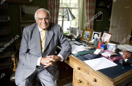 Robert Washington Shirley, 13th Earl Ferrers, in his study at home
