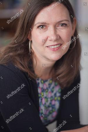 Editorial photo of Joanna Briscoe at home in Kentish Town, London, Britain - 10 Jun 2011