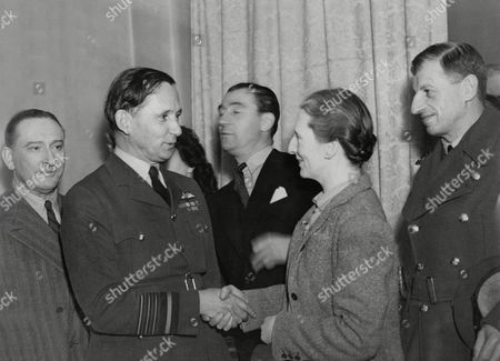 Lady Tedder Air Chief Marshal Sir Arthur Tedder Marjorie Fielding And Marshal Of The R.a.f. Sir Charles Portal (right) Met In A Dressing Room At The Wyndham Theatre After Performance Of 'quiet Weekend' Marshal Of The Royal Air Force Arthur William Tedder 1st Baron Tedder Gcb (11 July 1890 ? 3 June 1967) Was A Senior British Air Force Commander. During World War I He Was A Pilot And Squadron Commander In The Royal Flying Corps And He Went On To Serve As A Senior Officer In The Royal Air Force During The Inter-war Years. He Held High Command During World War Ii And After The War He Served As Chief Of The Air Staff Before Retiring From The Raf And Taking Up The Chancellorship Of The University Of Cambridge.