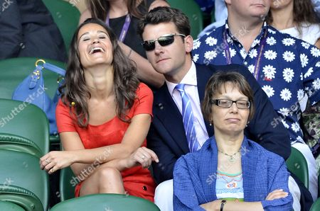 Stock Image of Pippa Middleton and Alex Louden