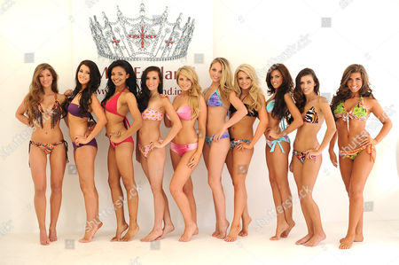 "Editorial picture of Miss England contestants compete for the title of ""Best Beach Body"", London, Britain - 29 Jun 2011"
