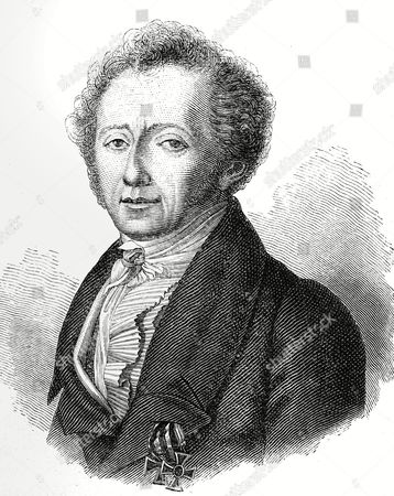 Heinrich Clauren, in fact Carl Gottlieb Samuel Heun (1771 - 1854), writer,  engraving, before 1880
