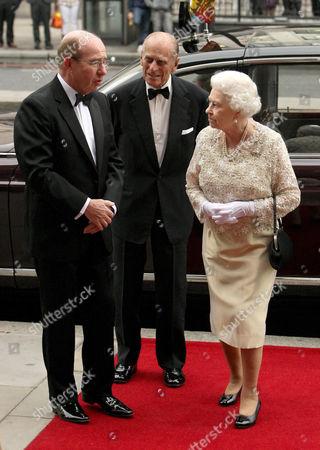 Peter Levene of Portsoken, Prince Philip and Queen Elizabeth II
