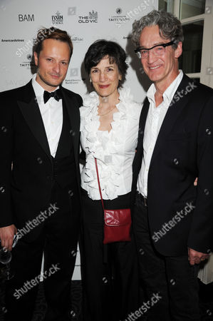 Chandler Williams, Harriet Walter and guest