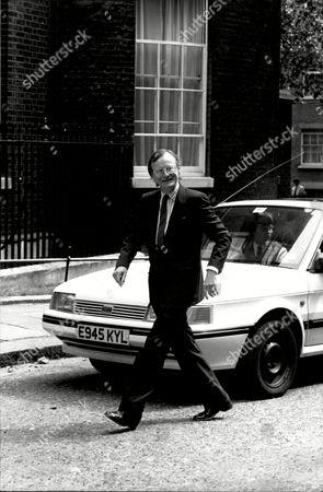 M.p. John Selwyn Gummer (baron Deben) Arriving At 10 Downing Street.