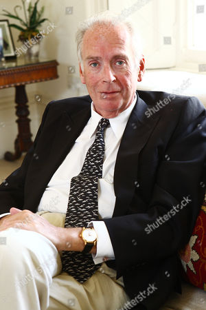 Editorial image of Former Conservative politican Lord Alexander Hesketh at home in Kensington, London, Britain - 23 Jun 2011