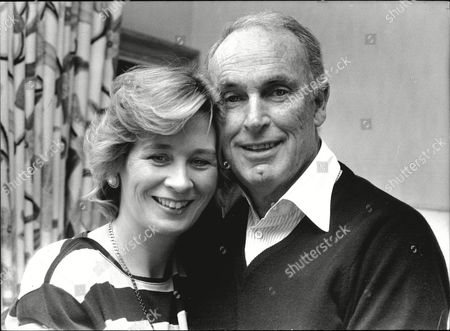 Television Executive Bruce Gyngell With Wife Kathy Gyngell 1988.
