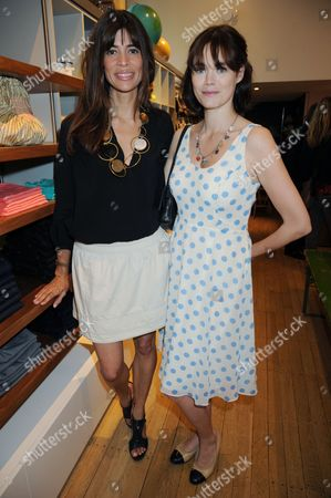 Lisa B and Jasmine Guinness