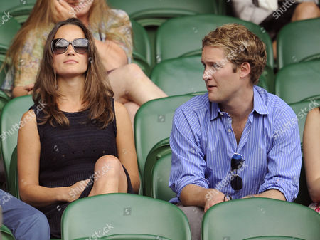 Pippa Middleton with friend George Percy