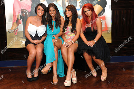 L-R Charlotte Leticia Crosby, Vicky Pattison, Sophie Kaisae and Holly Hagan