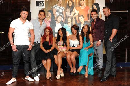 Editorial photo of Geordie Shore cast, London, Britain - 01 Jul 2011