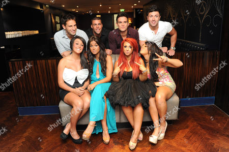 Back Row: Gaz Beadle, Jay Gardner and James Tindle  Front Row: Charlotte Leticia Crosby, Vicky Pattison, Holly Hagan and Sophie Kaisae