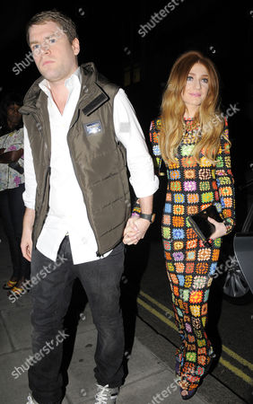 Nicola Roberts with Charlie Fennell