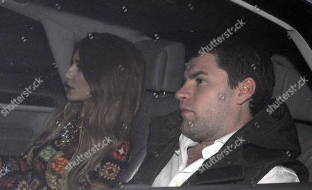 Stock Photo of Nicola Roberts with Charlie Fennell