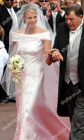 Editorial image of Wedding of Prince Albert II of Monaco and Charlene Wittstock, Religious Ceremony, Monaco - 02 Jul 2011