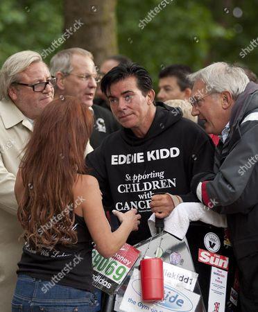 Editorial photo of Eddie Kidd completes the 2011 Virgin London Marathon in 51 days, London, Britain - 06 Jun 2011