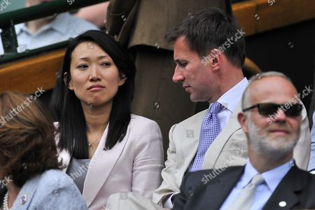 Jeremy Hunt and wife Lucia Hunt