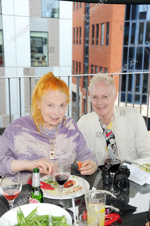 Stock Photo of Vivienne Westwood and Anthony Fawcett