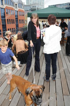 Carol Siller and dog bastard