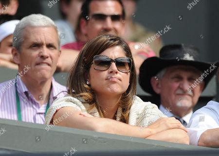 Mirka Vavrinec Mirka Federer Wife Of Roger Federer. Roger Federer V Alejandro Falla Wimbledon The Lawn Tennis Championships 2010.