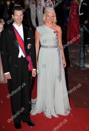 Prince Alois of Liechtenstein and Crown Princess Mette-Marit