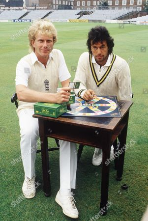 Editorial picture of Sports Editon of Trivial Pursuit Launch, The Oval, London, Britain - 30 Jul 1987