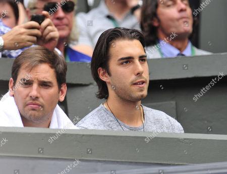 Sasha Vujacic, boyfriend of Maria Sharapova