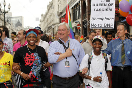 Richard Barnes, Deputy Mayor of London, in the London Gay Pride Parade 2011
