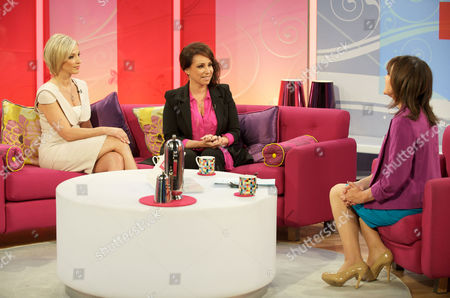 Jacqueline Gold and Vanessa Gold with Presenter Lorraine Kelly