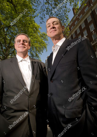 Editorial image of Architects who have deigned the new US Embassy be built in Nine Elms, London, Britain - 19 May 2010