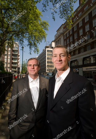 Editorial picture of Architects who have deigned the new US Embassy be built in Nine Elms, London, Britain - 19 May 2010