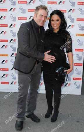 Donal MacIntyre with wife Ameera MacIntyre