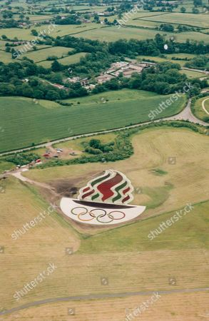 Olympic Foral Logo Manchester Airport Olympics 2000 Editorial Stock Photo Stock Image Shutterstock
