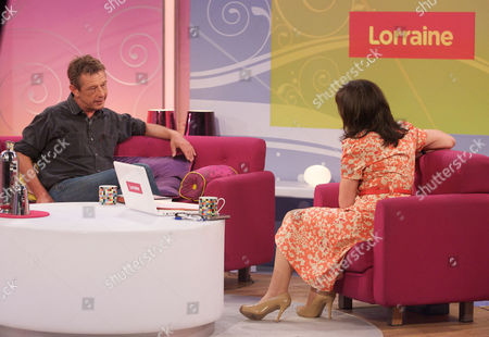 Andy Kershaw with Lorraine Kelly