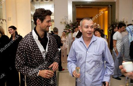 David Gandy and Piers Adam